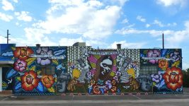 Image: Street view of the murals on Calle 16
