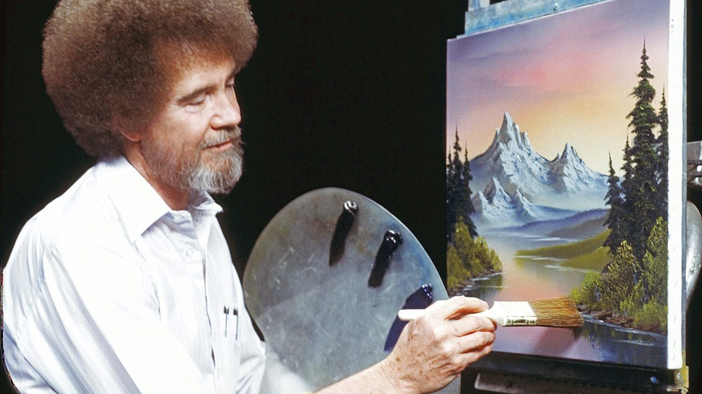 Why Does Bob Ross Continue to Spread So Much Joy?