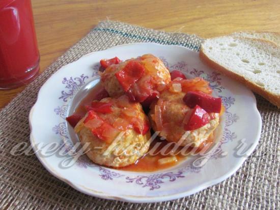 Тефтели из индейки в томатном соусе. Вкусное и диетическое блюдо из индейки – тефтели с подливкой