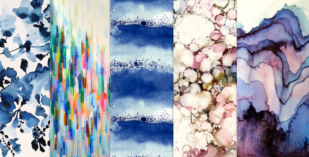 10 Dreamy Watercolor Patterns