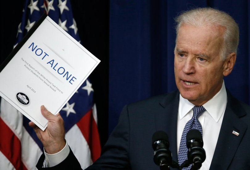 Vice President Biden Speaks On White House Task Force To Protect Students From Sexual Assault