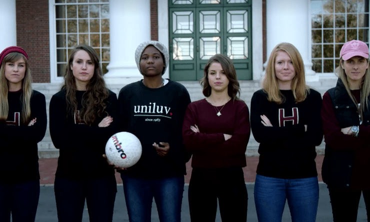 Sexual harassment in college sports