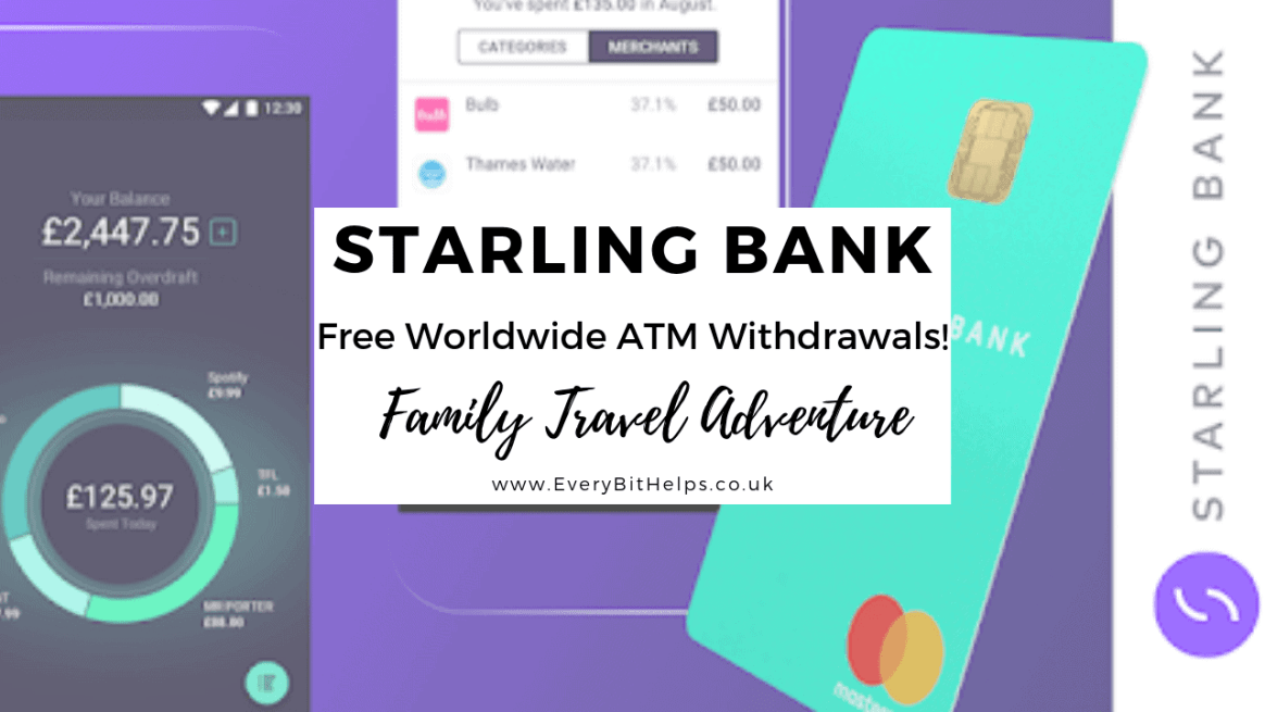 Save money with Starling Bank when traveling