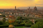 sunset over florence 1 - Travel Contest Roundup: February 18, 2015 – SXSW, Dominican Republic, Italy & more
