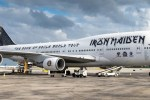 iron maiden 747 - Iron Maiden embark on world tour on Boeing 747 piloted by lead singer