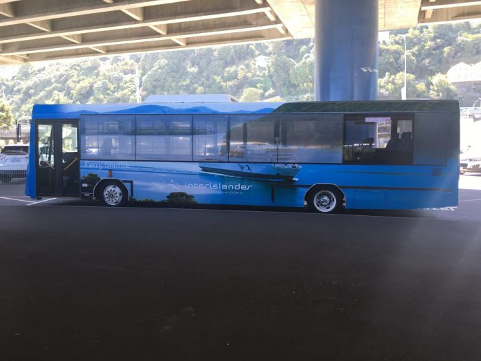 interislander ferry bus 700x525 - Nelson to Wellington, New Zealand by bus and ferry via Picton