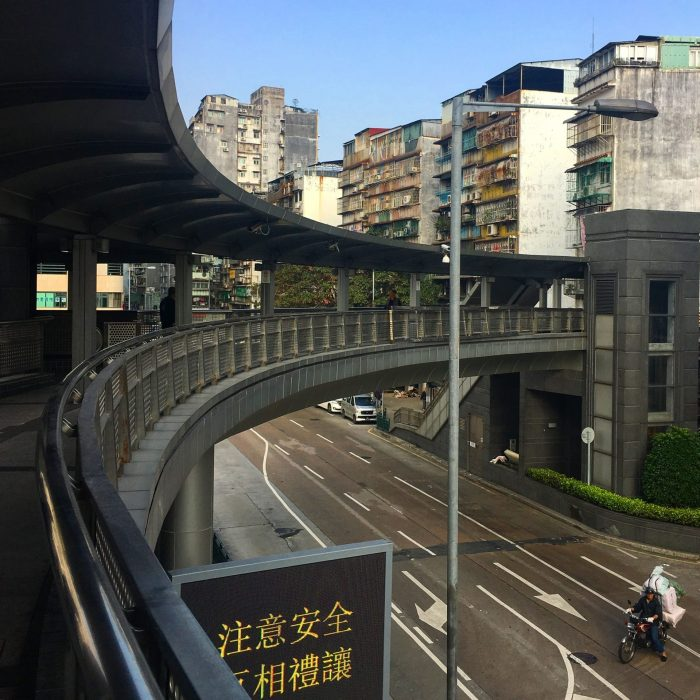 macao bridges bikes 700x700 - A day trip to Macau from Hong Kong