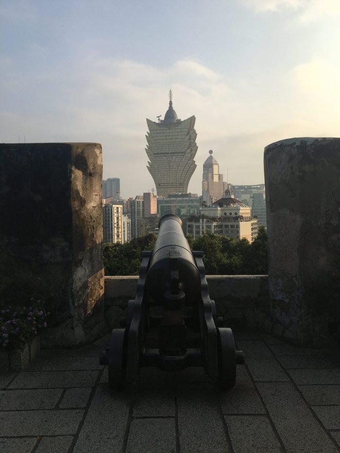 macau fort casinos 700x933 - A day trip to Macau from Hong Kong
