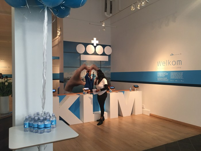 klm popup sfo 700x525 - A visit to the KLM pop-up in San Francisco