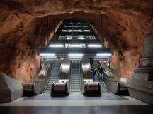Exploring the underground art of Stockholm's Metro system