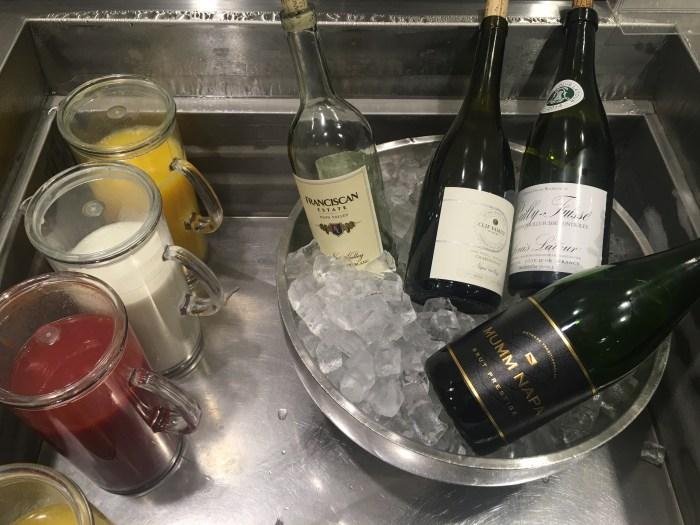 cathay pacific lounge san francisco sfo wine 700x525 - Cathay Pacific Lounge San Francisco SFO review