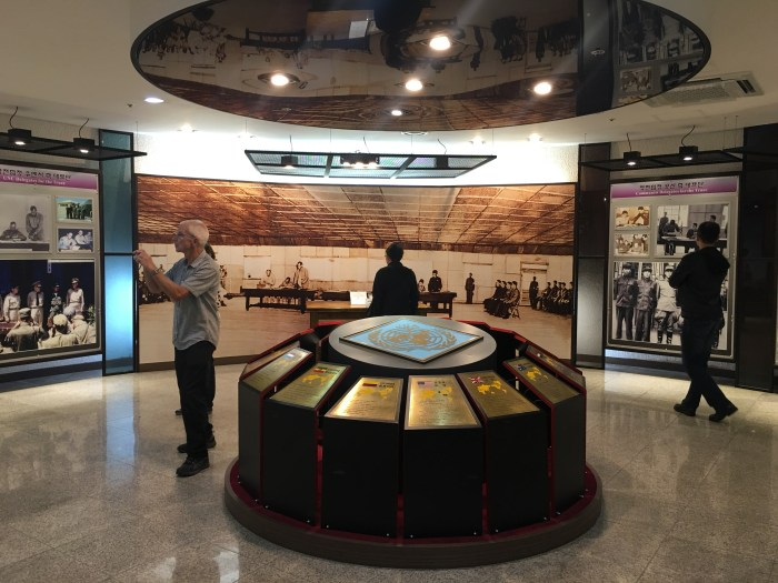 dmz tour from seoul camp bonifas museum 700x525 - A visit to the DMZ - Touring the border between South Korea & North Korea