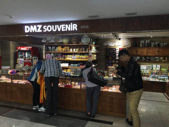 dmz tour from seoul gift shop 700x525 - A visit to the DMZ - Touring the border between South Korea & North Korea