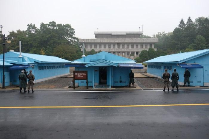 dmz tour from seoul panmunjom 700x467 - A visit to the DMZ - Touring the border between South Korea & North Korea