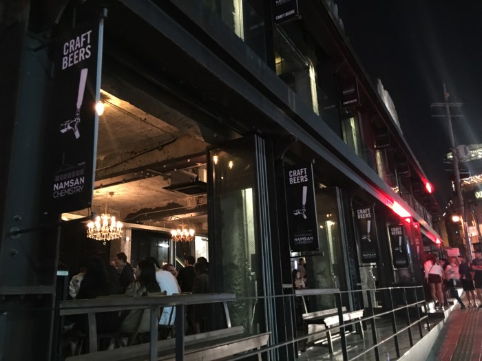 namsan chemistry 700x525 - The best craft beer in Seoul, South Korea