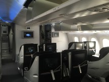 Boeing 787 Japan Airlines Business Class