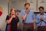 snl southwest airlines rap sketch will ferrell - SNL - Southwest Airlines flight attendants rap sketch: Video