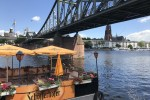 24 hour layover in frankfurt main river skyline and beer garden - The guide to a 24 hour layover in Frankfurt, Germany