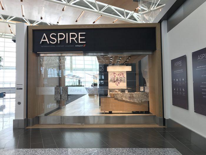 aspire lounge transborder departures calgary airport yyc entrance 700x525 - Aspire Lounge Transborder Departures Calgary Airport YYC review