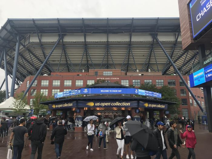 arthur ashe stadium us open 700x525 - I won a travel contest & attended the U.S. Open Final