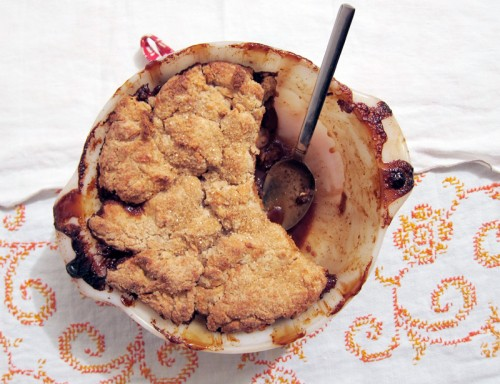 ginger apple pandowdy