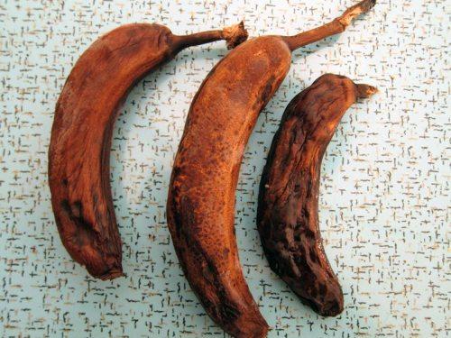 bananas, frozen