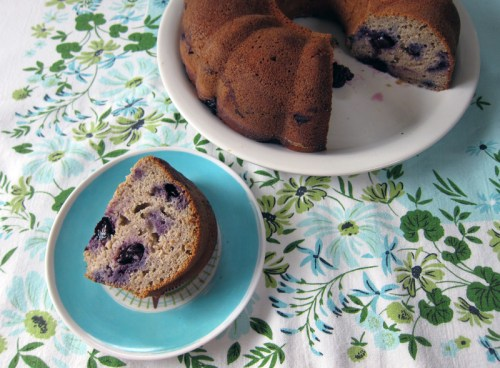 buckwheat bundt cake with blueberries | everybody likes sandwiches