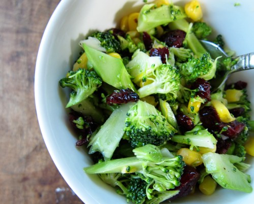 sweet & sour broccoli slaw - everybody likes sandwiches