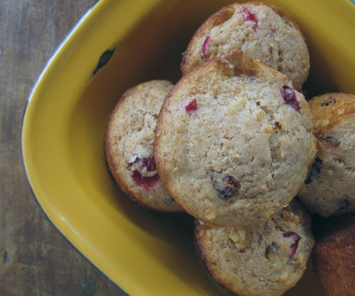 vegan citrus-cranberry muffins | everybody likes sandwiches