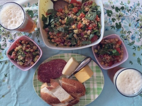 summer bulgur & chickpea salad | everybody likes sandwiches