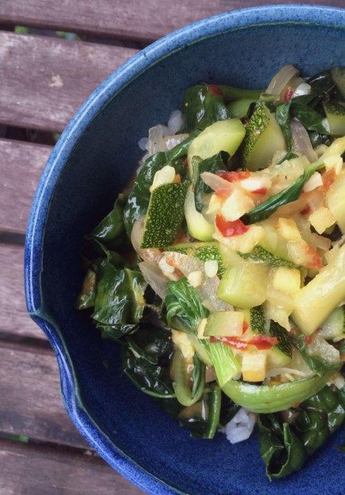summer thai veggie bowl | everybody likes sandwiches