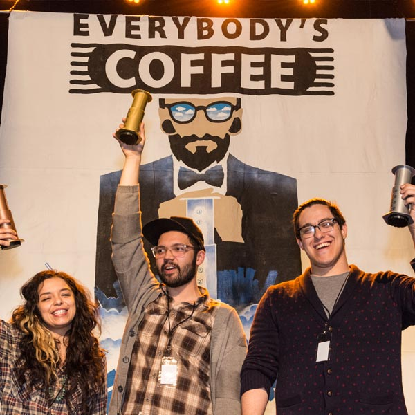 Aeropress Competition Winners