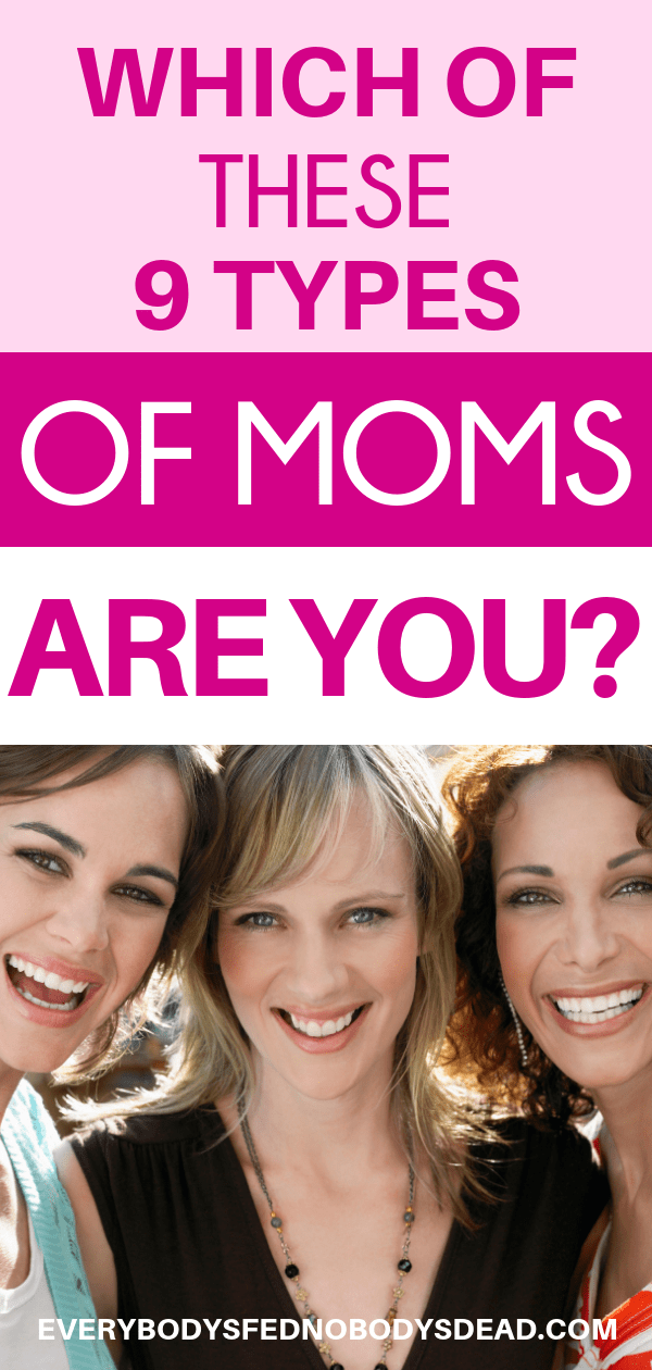 Which of these 9 types of moms are you? everybodysfednobodysdead.com