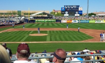 Cubs Play Padres