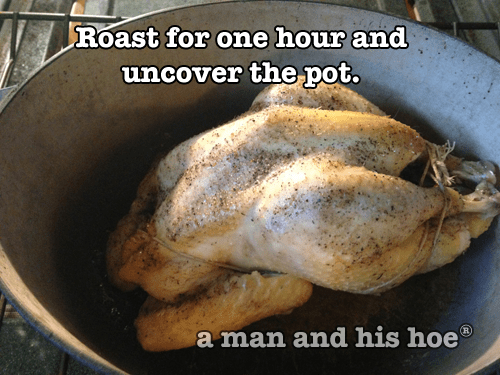 Roasting a rooster step 5