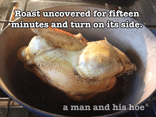 Roasting a rooster step 6