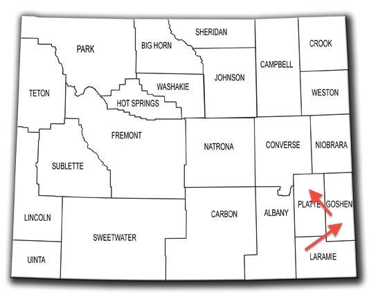 Wyoming: Goshen County « Every County