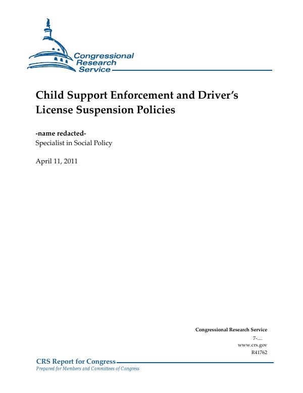 Alabama Child Support Payment Center Address : alabama, child, support, payment, center, address, Child, Support, Enforcement, Driver's, License, Suspension, Policies, EveryCRSReport.com