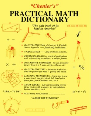 Chenier's Practical Math Dictionary: