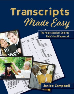 Transcripts Made Easy: The Homeschooler's Guide to HIgh School Paperwork has been helping home school families since 2001.