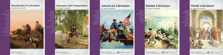 Excellence in Literature curriculum: Reading and Writing through the Classics by Janice Campbell