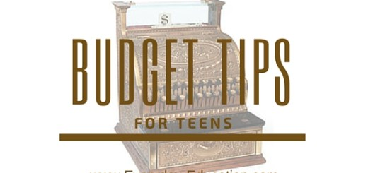 Budget tips for teens from Rebecca Houghton.