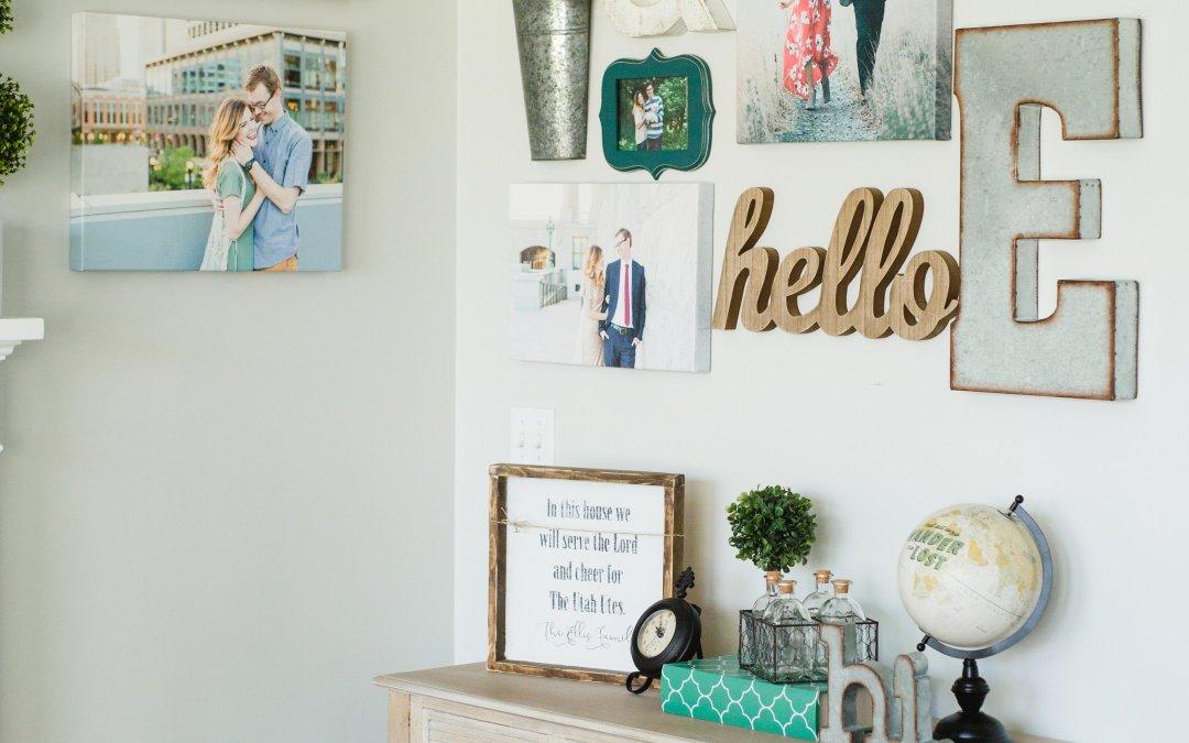 Living Room Gallery Wall Ideas