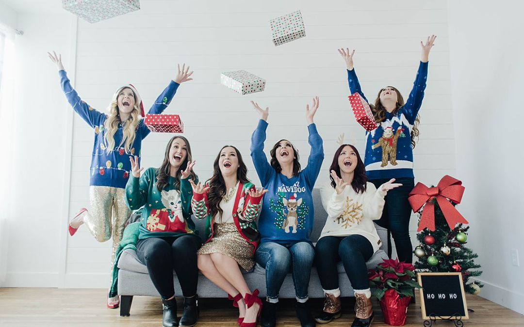 How To Style Ugly Christmas Sweaters and Party Ideas