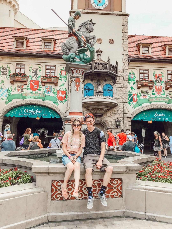 Dine Around The World At Walt Disney World