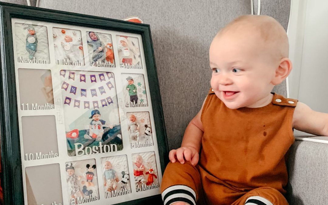 Remembering Baby Milestones with Northland Frames & Gifts