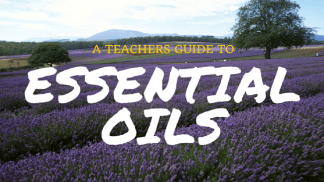 Essential Oils For Teachers