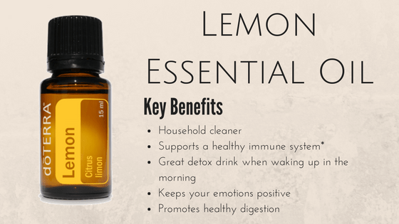 DoTerra Essential Oils Lemon Essential Oil Review