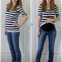 Make Your Own Maternity Jeans (Tutorial)