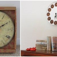 A Mid-Century Modern Clock (and Ani's Nursery)